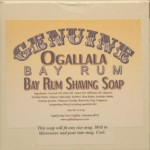 Two (2) of Genuine Ogallala Bay Rum Shaving Soap - Each Puck 4.5 oz