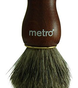 Metro Grooming Products - 100% Pure Badger Shaving Brush - The Carpenter
