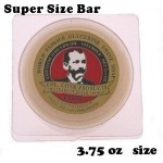 LARGE SIZE Colonel Conk World's Famous SUPER BAR Shaving Soap BAY RUM 3.75 Oz made in USA