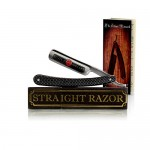 "~Shave Ready~ Shaving Straight Razor 6/8"" GD (Gold Dollar) 208 w/ The Shave Network Straight Razor Slip Case - Hand Honed By The Blades Grim Crew with Care & How To Straight Shave Guide!"