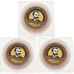 Col. Conk World's Famous Shaving Soap Almond -- 3 Pack -- Each Net Weight 2.25 Oz