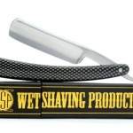 "Men's Professional Straight Edge Sharp Shaving Razor Carbon Steel 6/8"" x 3"" Blade w/ Box"