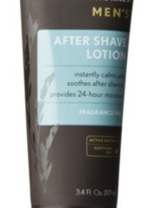 Aveeno Active Naturals Men's After Shave Lotion, 3.4oz (Pack of 2)
